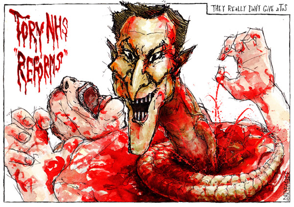 Jeremy Hunt NHS Alien